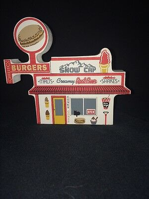 Cats Meow Route 66 Collection Snow Cap '98 Seligman, Arizona Diner