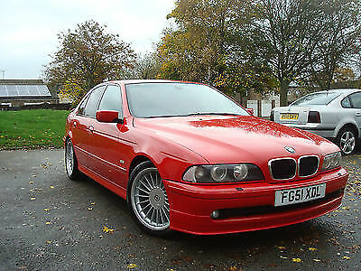 Bmw 5 E39 Afl Alpina Look Front Bumper Spoiler / Splitter / Lip New!