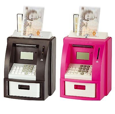 Electronic Coin Note Money Counting ATM Box Saving Safe Digital Piggy Bank