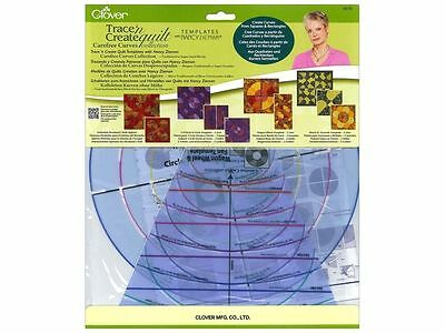 Clover Trace N Create Quilts Template By Nancy Zieman Carefree Curves Collection