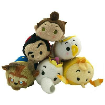 Disney Tsum Tsum Beauty & The Beast Minis Stackable Collectible Plush Toys