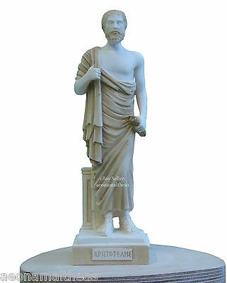 Aristoteles (AKA Aristotle) - Statuette of Ancient Greek Philosopher - 26cm