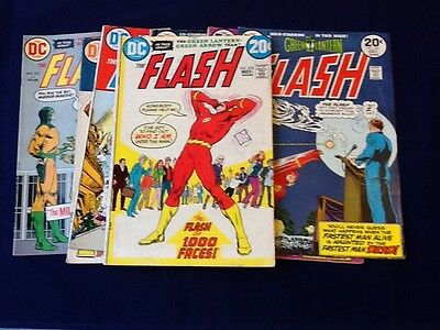THE FLASH #218 -282 (some missing) 37 Comics In Total.