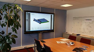 """84"""" Interactive SMART Board 8084i-G4 LED Quid Touch 1 Year warranty Complete"""