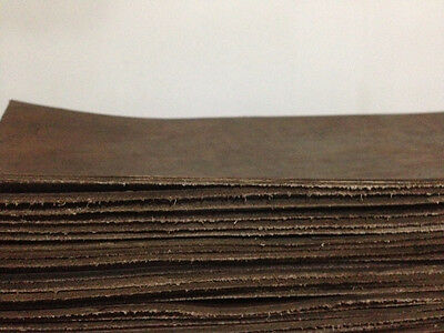 Leather Buffalo Leather Sheet Light Brown 4Mm Thick -For Leather Craft
