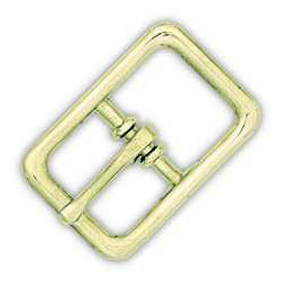 Halter Buckle Solid Brass 1""