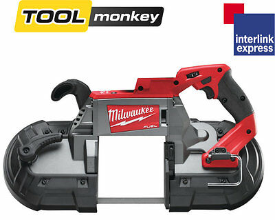 Milwaukee M18CBS125-0 18v Fuel Deep Cut Cordless Bandsaw - Bare Unit Only