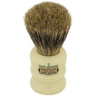 "Simpsons ""The Duke"" D2 Shaving Brush with Pure Badger"