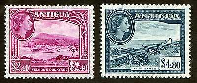 Lot of 2 Antigua Scott #120-121 Mint Hinged Stamps #48735