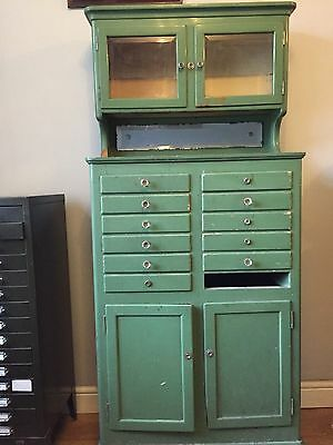 Multi Drawer Industrial Cupboard Dentist Cabinet Lovely Vintage Storage
