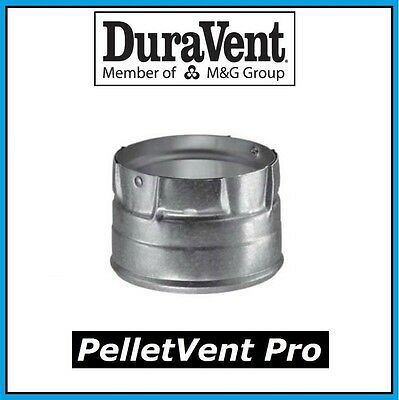 "DURAVENT PELLETVENT PRO Pipe 3"" Clean Out Tee Cap #3PVP-CO NEW! FREE USA SHIP!"