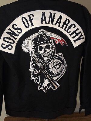 Sons of Anarchy Officially Licensed NWT Mechanic Unlined Jacket Med Fit Large
