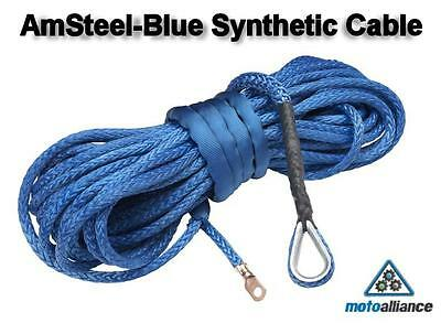 AmSteel®-Blue Replacement Synthetic Winch Cable/Rope 5/16 x 100 - BLUE