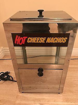 Hot Cheese Nachos Chip Dispenser Tabletop Restaurant Vending Machine 22x12x14