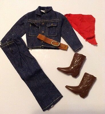 Vintage Barbie Ken 1972 Way Out West #1720 Outfit. Complete!