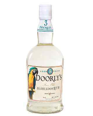 Doorly's 3 Year Old White Rum 700mL bottle