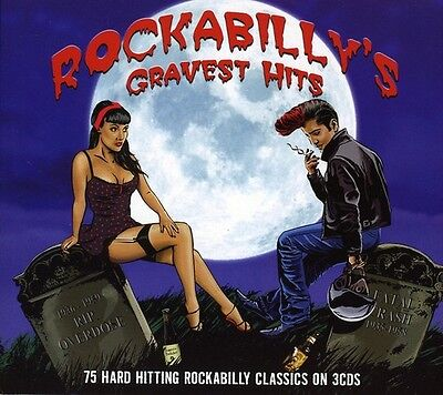 Various Artists - Rockabilly's Gravest Hits / Various [New CD] UK - Import