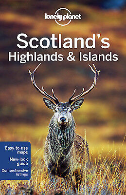Lonely Planet SCOTLAND'S HIGHLANDS & ISLANDS 3 (Travel Guide) - BRAND NEW