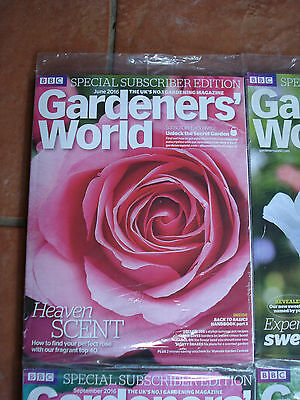 Brand New & Unopened - Special Subscribers' Edition Gardener's World - June 2016