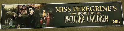 Miss Peregrine's Home For Peculiar Children 5x25 Movie Theater Mylar