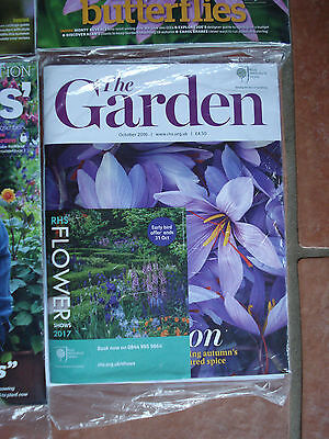 Brand New - Royal Horticultural Society - 'the Garden' Magazine - October 2016