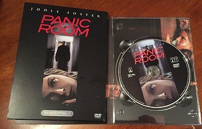 Panic Room (DVD, 2002, The Superbit Collection) Very good Condition. No Scratch