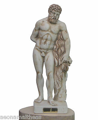 Heracles by Lysippos - (Hercules Farnese in Latin) - Son of Zeus - 38cm
