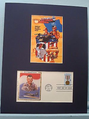 The U.S. Air Force Veterans of Desert Storm & First Day Cover of its stamp