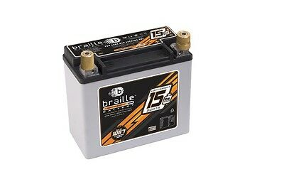 Braille AGM 12 V 425 Cranking Amps No-Weight Battery P/N B2015
