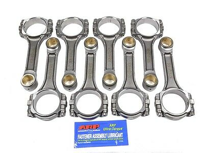 EAGLE 6.123 in Forged I-Beam Connecting Rod Small Block Mopar 8 pc P/N SIR6123CB