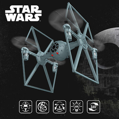 Star Wars Tie Fighter RC Quadcopter Remote Control helicopter 2.4Ghz Drone New