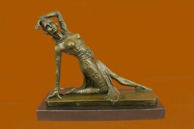 Bronze Sculpture Chiparus Russian Ballet And French Cul Statue Figurine Figure