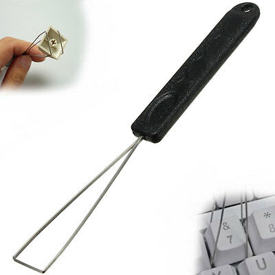 Stylish Steel Wire Keyboard Keycap Key Cap Puller Keypull Remover Cleaning Tool