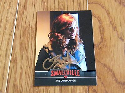 Cassidy Freeman Autographed Smallville Card Hand Signed
