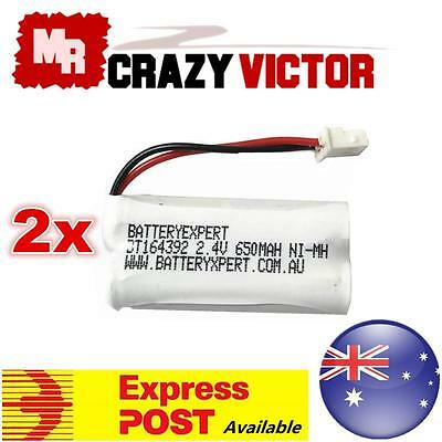 2x TELSTRA BT164392 BT264392 2.4V CORDLESS PHONE REPLACEMENT BATTERY SUIT 12250