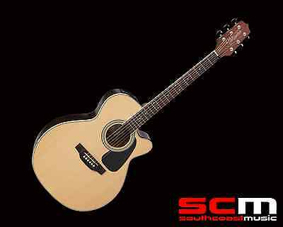 Takamine ED3NCNAT NEX Acoustic Electric Guitar With Pickup Natural Brand New