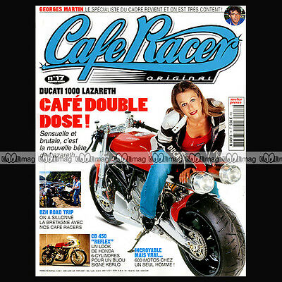 Cafe Racer Original N°17 Georges Martin Ducati 1000 Ss Lazareth Michel Rougerie