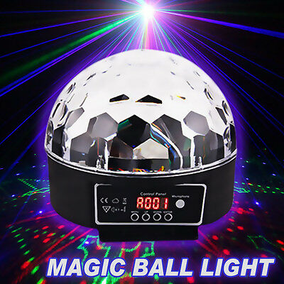 Upgrade RGB Effect DJ Light LED Stage Lighting Laser Magic Ball Disco Party