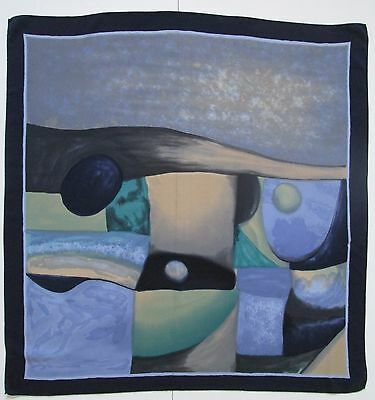 A Stunning Vintage Abstract Pure Silk Scarf ART (4322X)