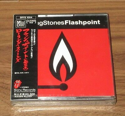 PROMO! SEALED! Rolling Stones JAPAN official MINI DISC (MD) not CD - FLASHPOINT