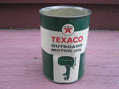 Texaco Outboard Motor Oil Full1 Quart Can