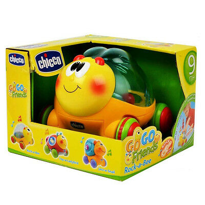 Chicco Go Go Friends Rock-A-Bee Musical Activity Toy