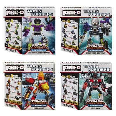 Transformers Kre-O Micro Changers Combiners Action Figure Hasbro Toys