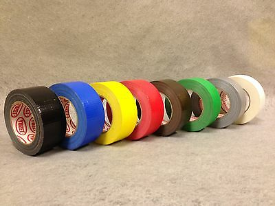 Yuzet  Premium Gaffer Tape cloth gaffa duck duct 8 colours 3 sizes huge range