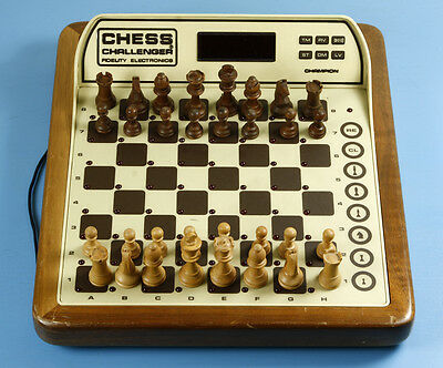 Chess Challenger Fidelity Electronics Made in USA