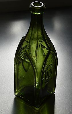 Beautiful bitter bottle = cathedral style * circa 1880