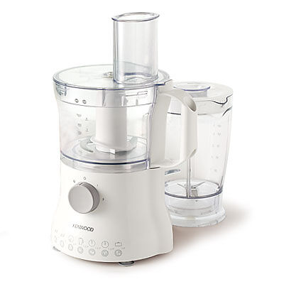 Kenwood FP220 Multi Pro Compact  Food Processor, White with Blender