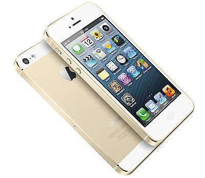 New Overstock Apple iPhone 5s  32GB  Gold Factory GSM Unlocked for ATT T-Mobile