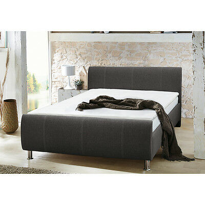 boxspringbett polsterbett doppelbett peach i bonell federkern topper eur 559 00 picclick de. Black Bedroom Furniture Sets. Home Design Ideas