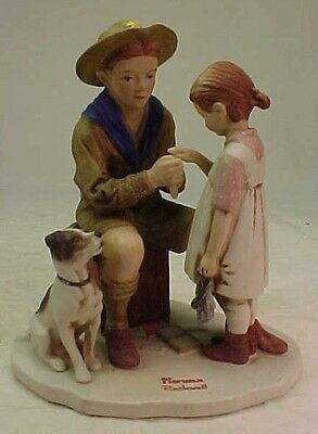 Norman Rockwell THE YOUNG DOCTOR  Figurine  Dave Grossman  Limited Edition